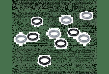 Paumelle ringen 12mm - 100 stuks