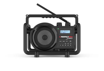 Perfectpro DABBOX digitale bouwradio oplaadbaar