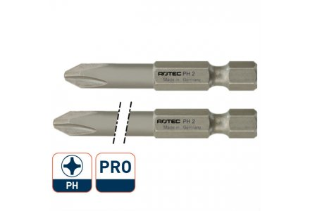 Rotec Pro krachtbit 50mm PH 2