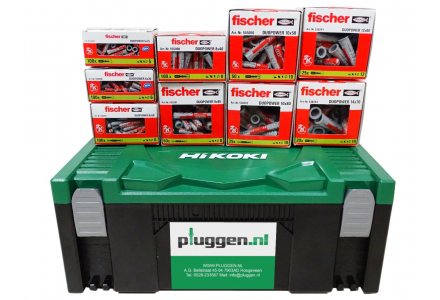 Fischer Duopower pluggen assortiment 570 delig