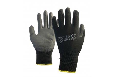 Foam werkhandschoenen met pu coating