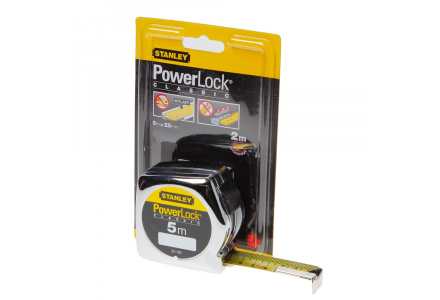 Stanley Powerlock rolmaat 5x25
