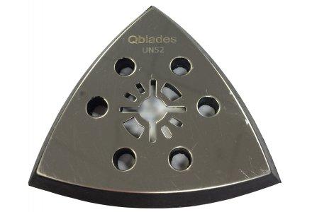 Qblades UN52 multitool Schuurvoet Driehoek geperforeerd - 93mm  (Universeel) per 2-stuks