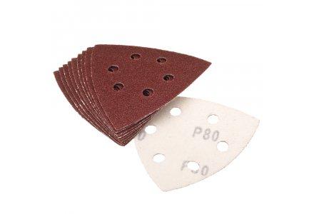 Qblades UN62 Schuurpad Driehoek Geperforeerd K60 per 10-stuks