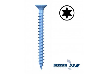 Reisser R2 plus 3,5x45 torx spaanplaatschroeven voldraad 1000 stuks