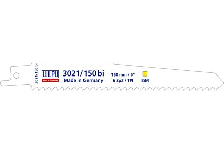 Wilpu 3021-225 bi reciprozaagblad