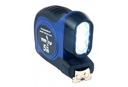 Reisser rolbandmaat 5 meter met LED & magneet