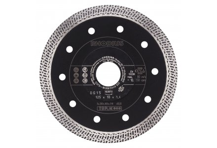 Rhodius DG15 diamantzaagblad 125mm