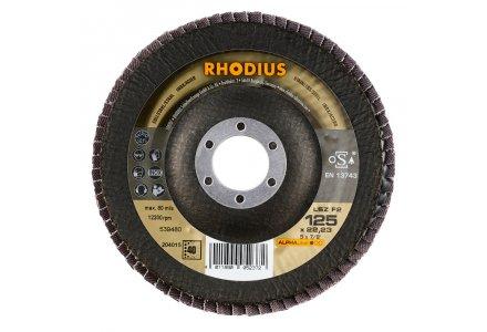 Rhodius LSZ F2 125mm K40 lamellenschijf