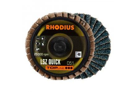 Rhodius LSZ Quick lamellenschijf 51mm K60