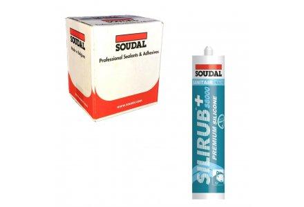 Soudal Silirub+ S8100 doos - 15 kokers