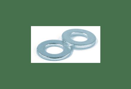Sluitring M8 DIN 125 Galvanisch verzinkt - 100 stuks