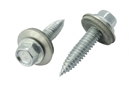 Dunblikschroeven bi-metaal met EPDM ring 6x38 - 100 stuks