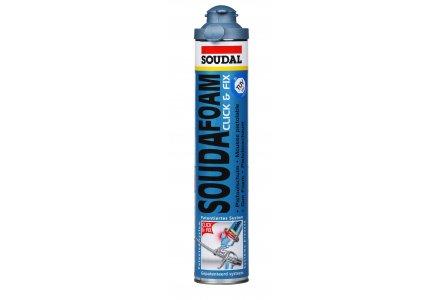 Soudal Soudafoam Gun Click & Fix 750ml - purschuim