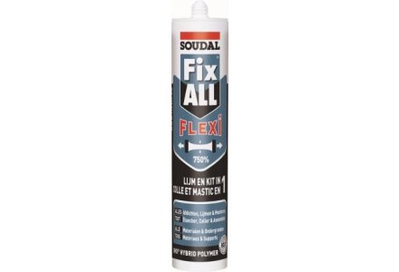 Soudal Fix all Flexi - zwart 290ml