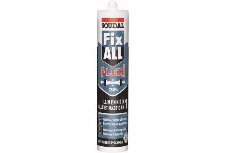 Soudal Fix all Flexi - zwart 290ml
