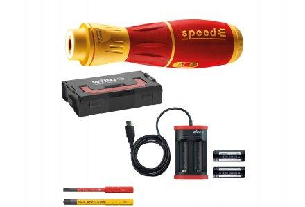 Wiha speedE II set elektrische schroevendraaier