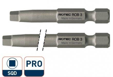 Rotec square-drive pro kracht bit SQD 2 - 70mm
