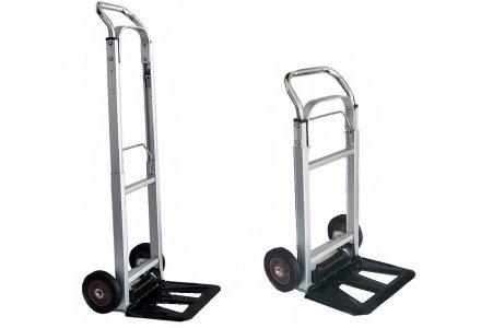 Steekwagen / steekkar opklapbaar aluminium tot 90kg.