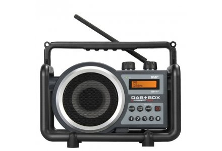 Perfectpro DAB+box digitale bouwradio oplaadbaar