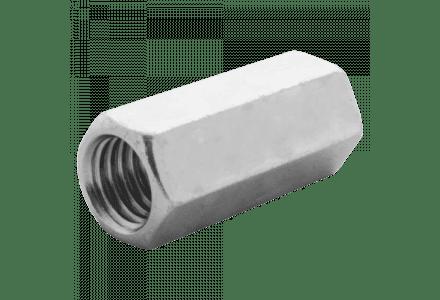Verlengmoeren DIN 6334 M12 galv. verzinkt 50 stuks