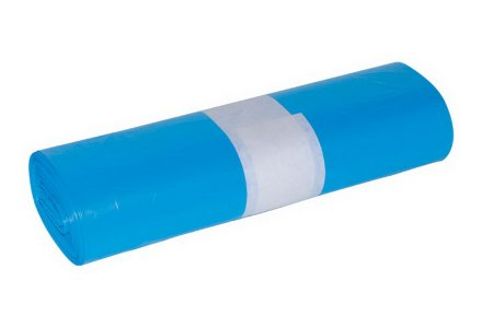 Vuilniszakken blauw 120 liter 10 stuks