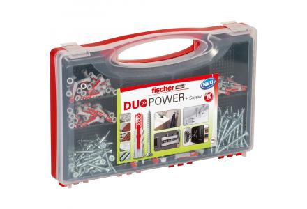 Fischer Red-Box DuoPower pluggen met schroeven 280 delig