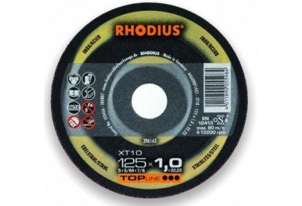 Rhodius doorslijpschijf XT10 230x1,9 mm. staal en RVS