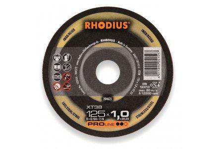 Rhodius doorslijpschijf XT38 230x1,9 mm. staal en RVS