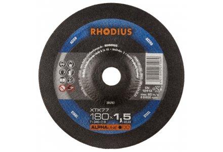 Rhodius XTK77 doorslijpschijf 230x1,9 mm staal