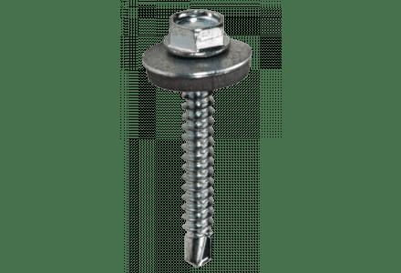 Zelfborende schroeven met EPDM ring verzinkt 5,5x50 - 200 stuks