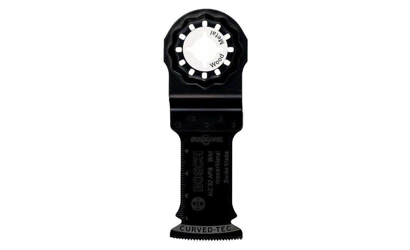 Bosch multitool Bi-metalen zaagblad AIZ 32 APB Hout en Metaal 50x32 mm (Starlock)
