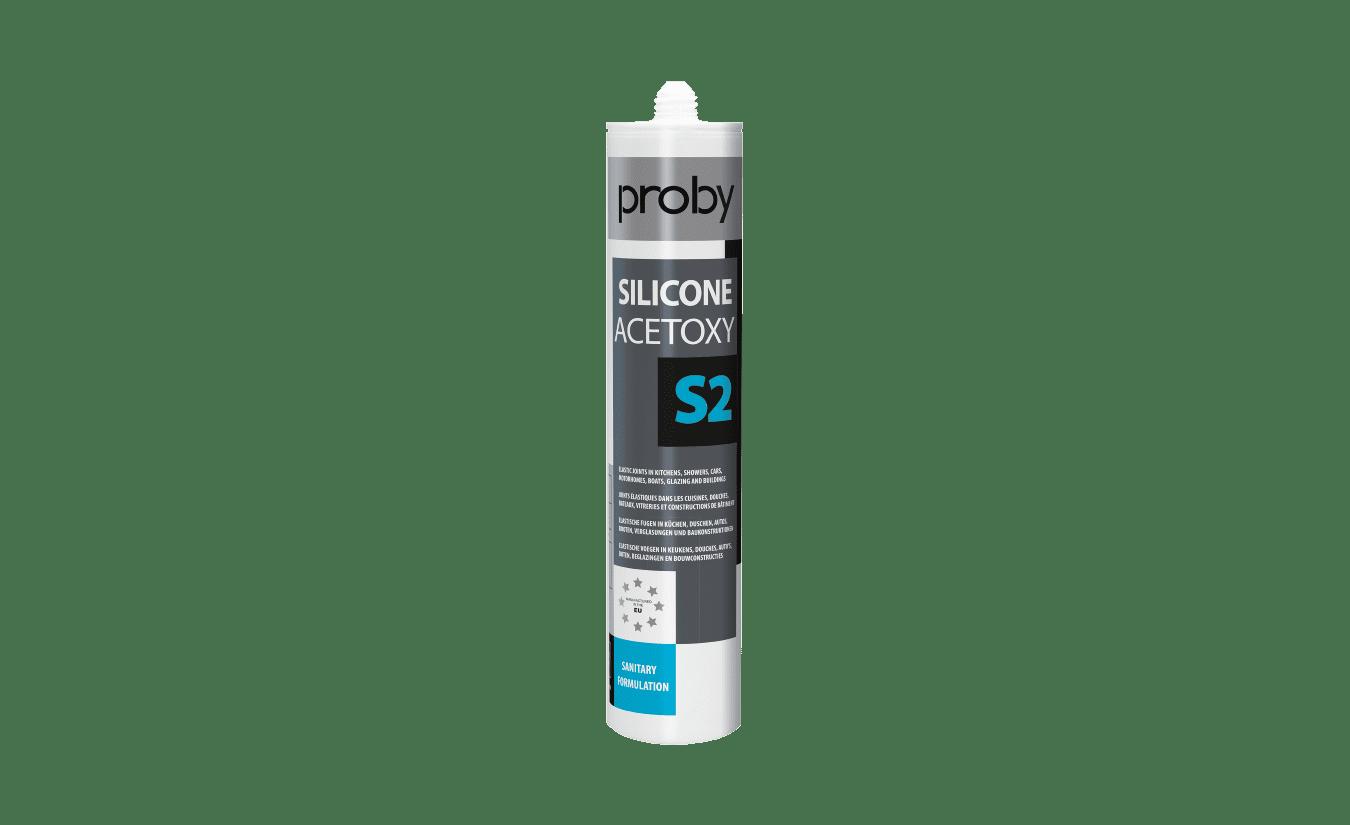 Proby S2 siliconenkit wit doos - 24 kokers