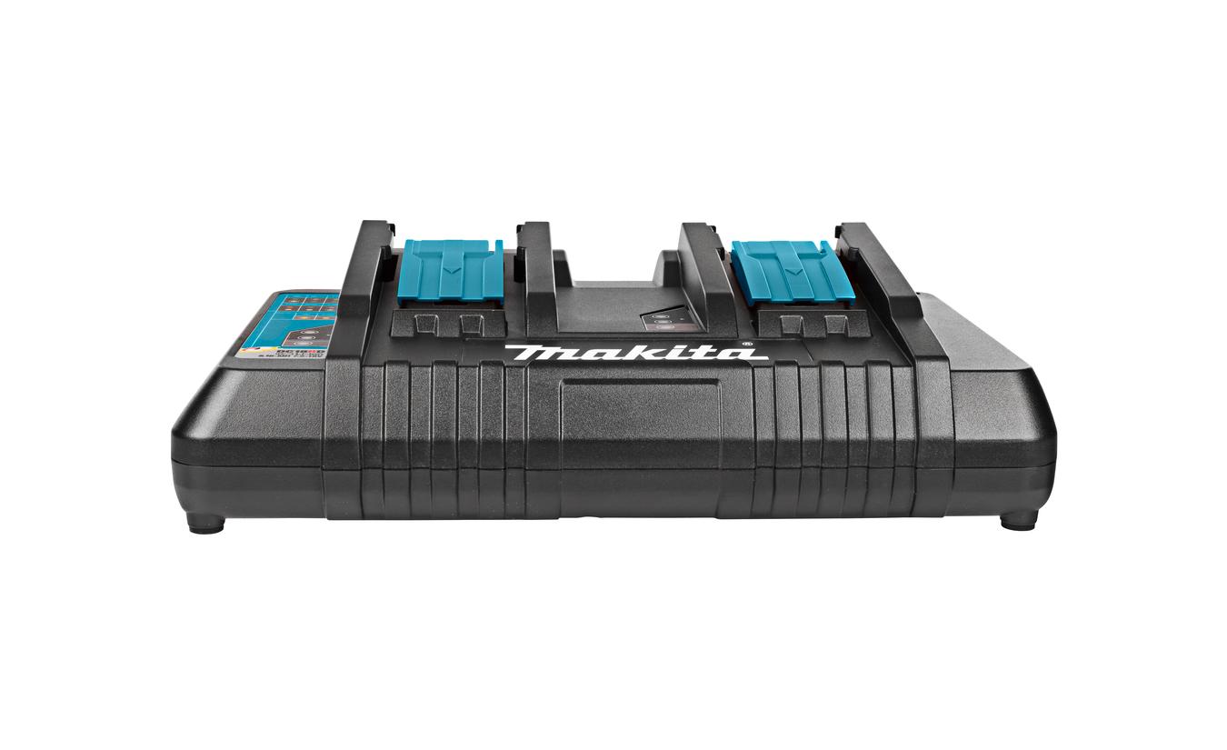 Makita DC18RD acculader voor twee accu's