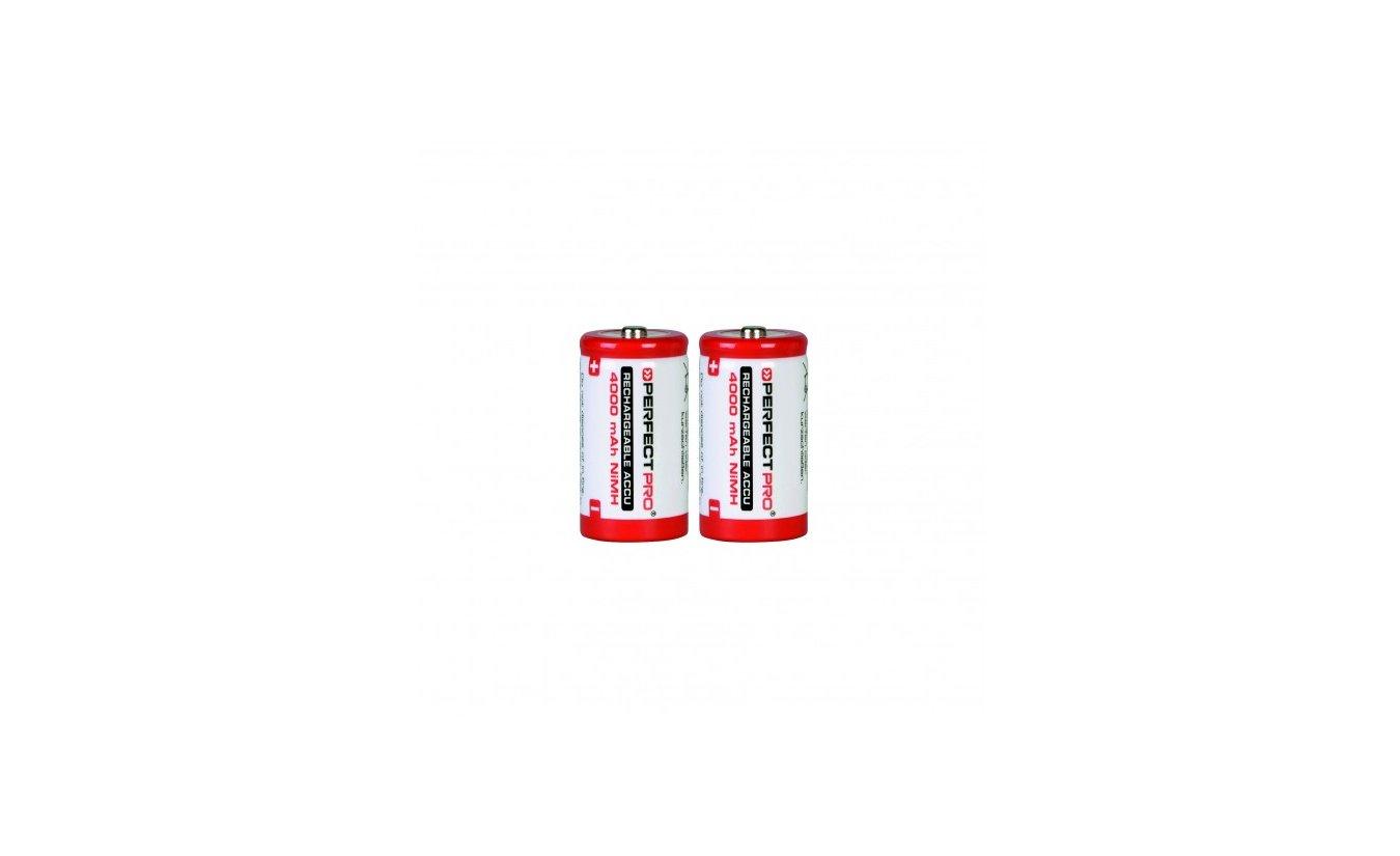 Perfectpro oplaadbare batterijen C 2 stuks (4000mAh)