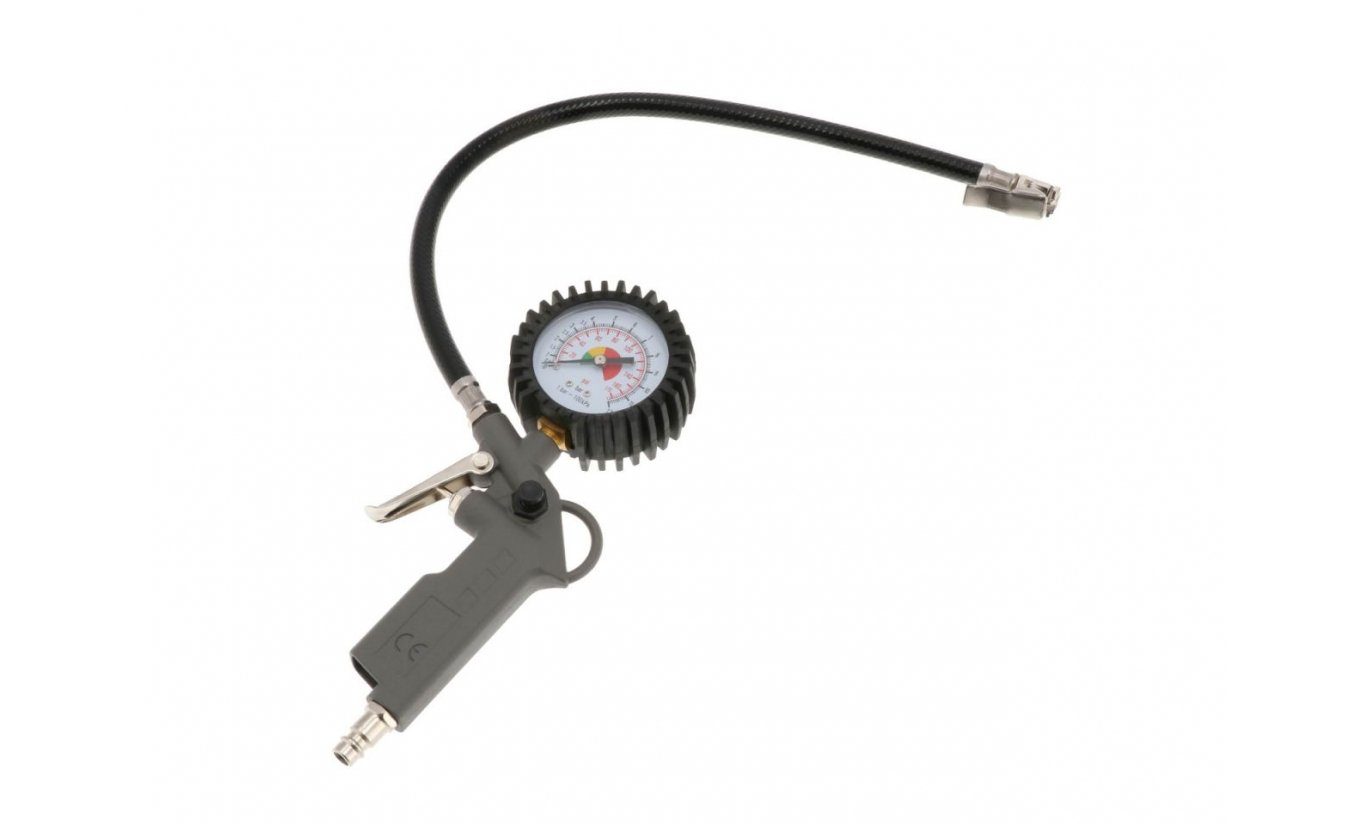 Airpress bandenvulmeter / bandenpomp Euro aansluiting