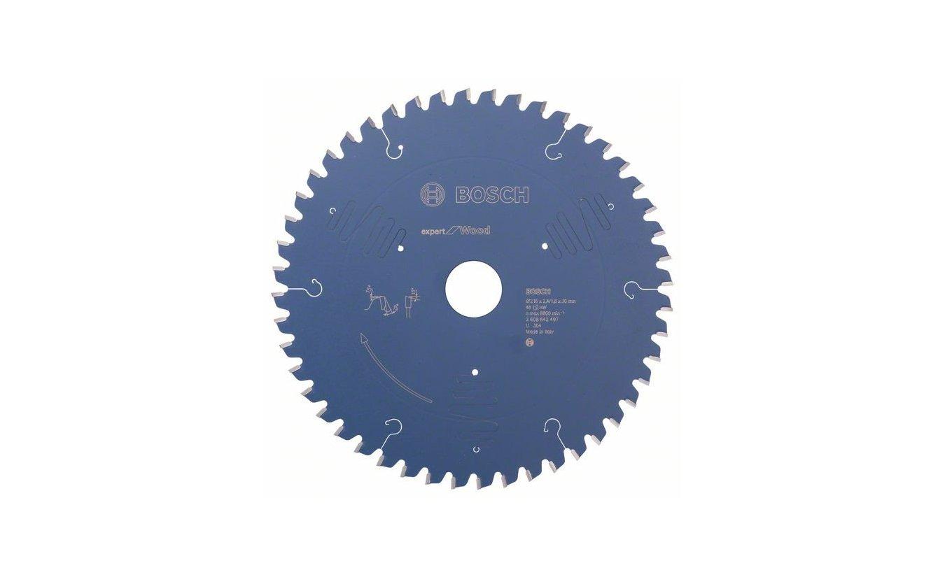 Bosch cirkelzaagblad 216x30x48 T Expert for Wood