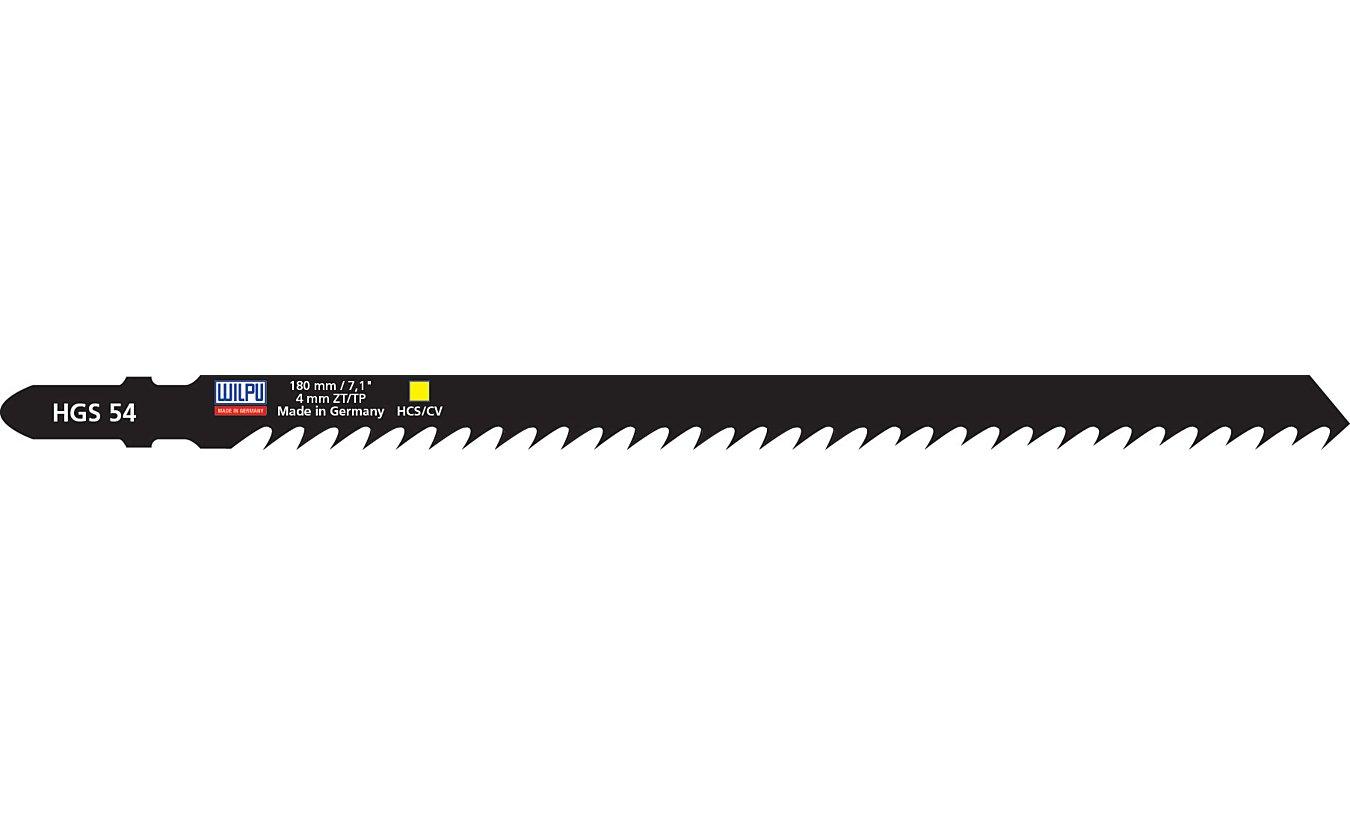 Decoupeerzagen Wilpu HGS 54 zeer lang en snel blad voor alle hout (5.0 - 120mm)