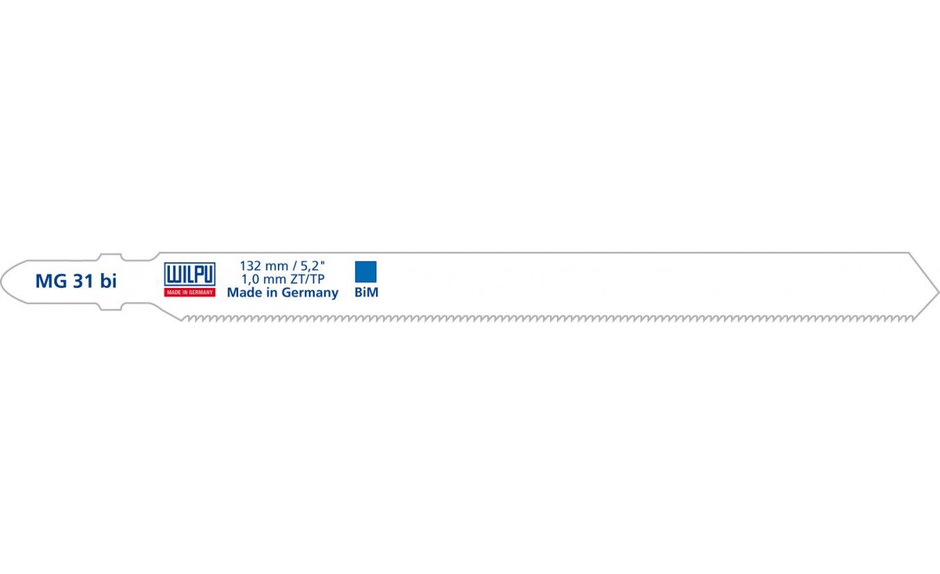 Decoupeerzagen Wilpu MG 31 bi flexibel blad voor staal, pijpen, sandwichmateriaal
