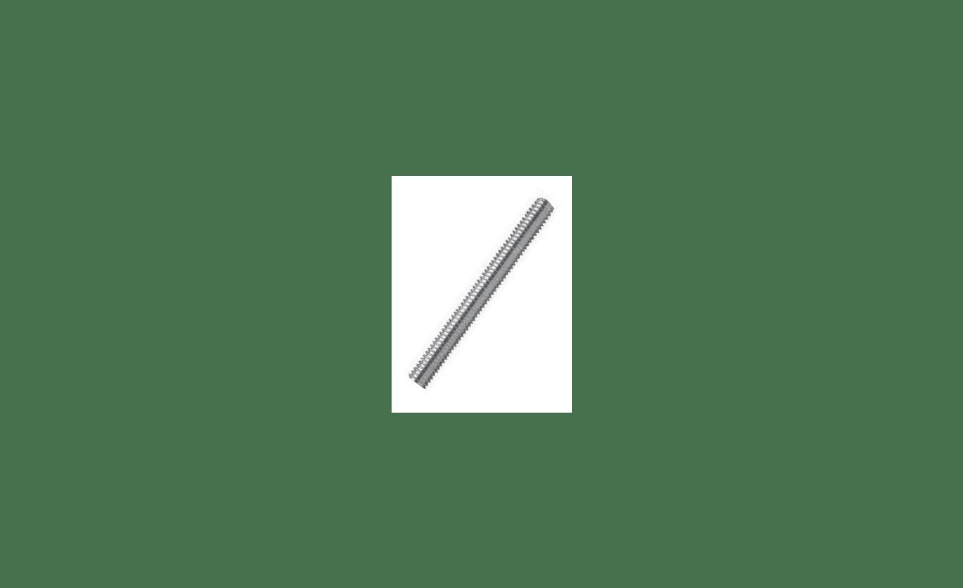 Draadeind M5x1000 DIN 975 4.6 verzinkt