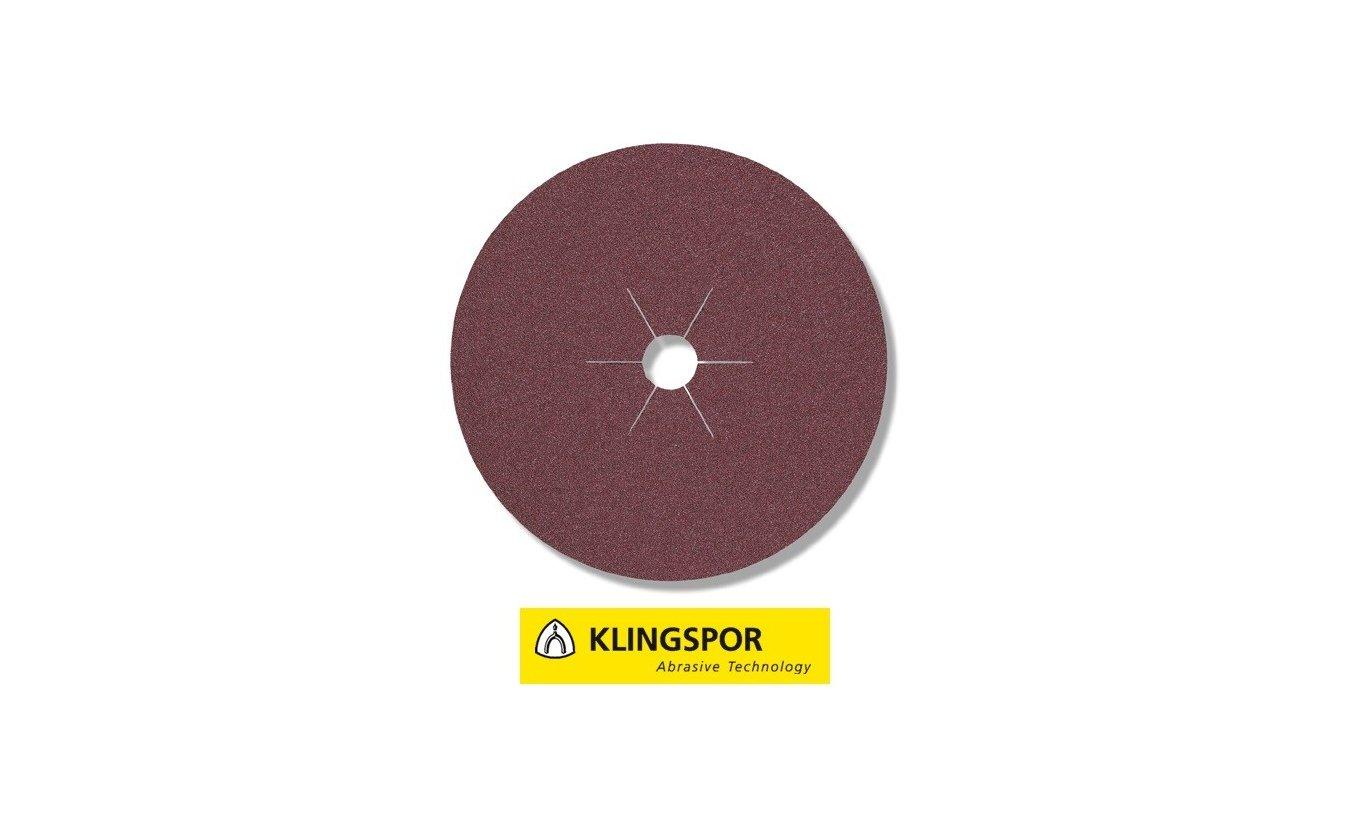 Klingspor fiberschijven universeel - CS 561 Ø 125x22 mm korrel 100
