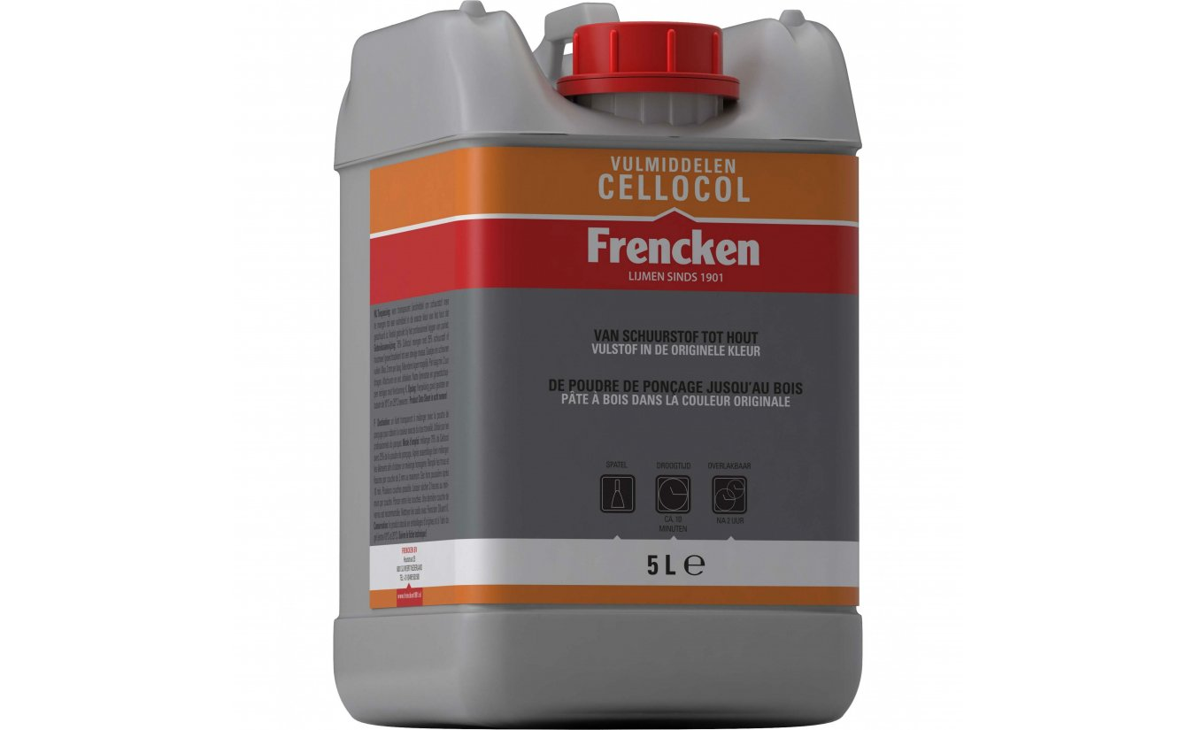Frencken Cellocol - Bindmiddel / Vulmiddel 5L.