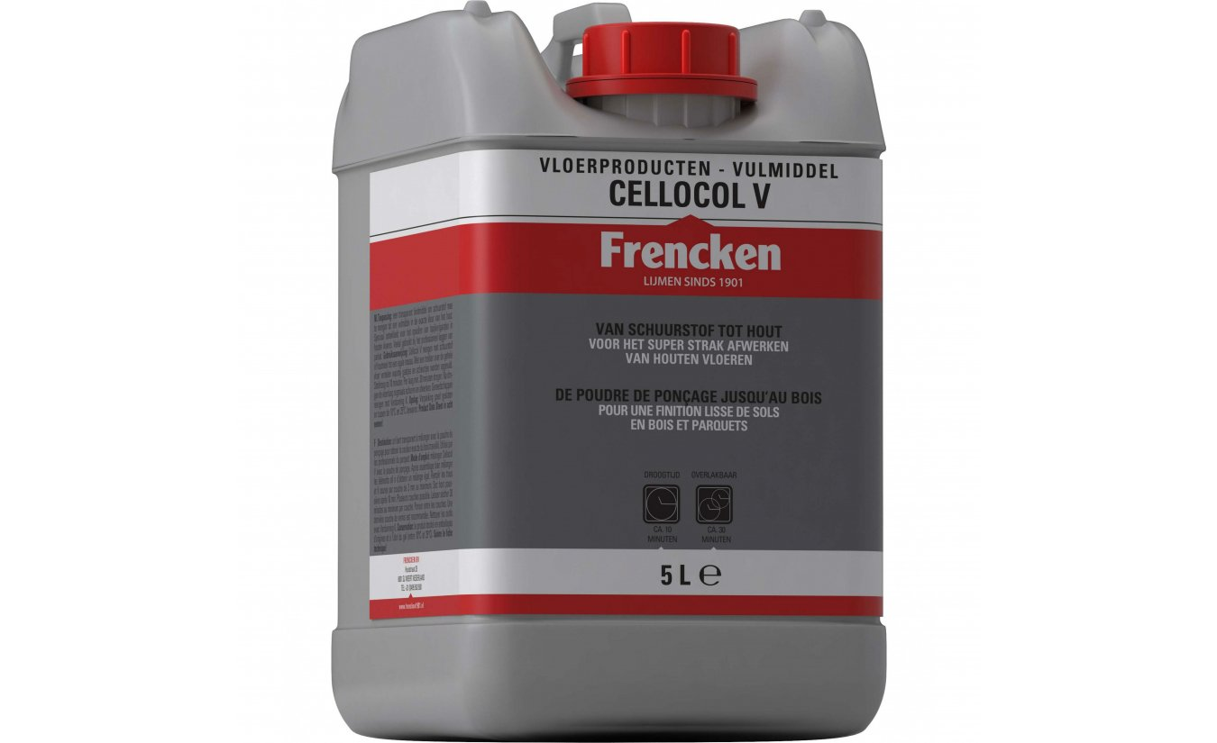 Frencken Cellocol-V - Bindmiddel / Vulmiddel 5L.