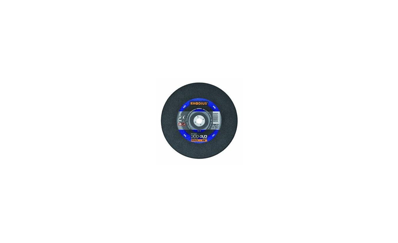 Rhodius FT30 doorslijpschijf 300mm asgat 25,4