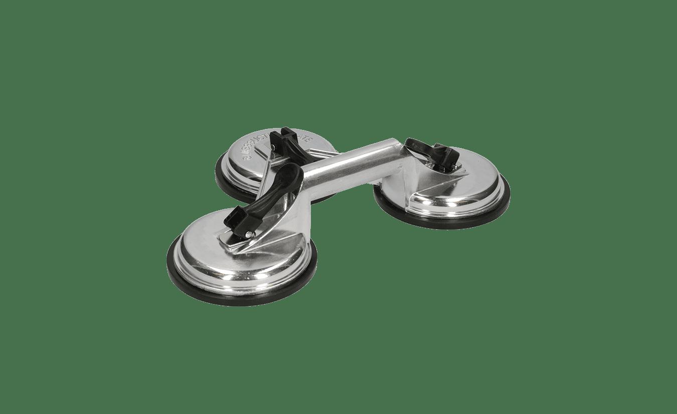 Triple glaszuiger aluminium - 100kg