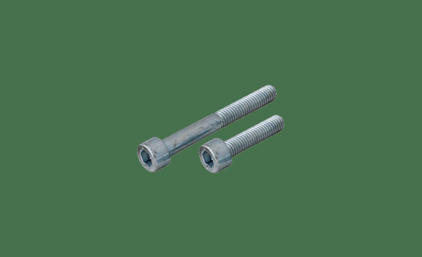 Inbusbouten cilinderkop 8x80 - 100 stuks