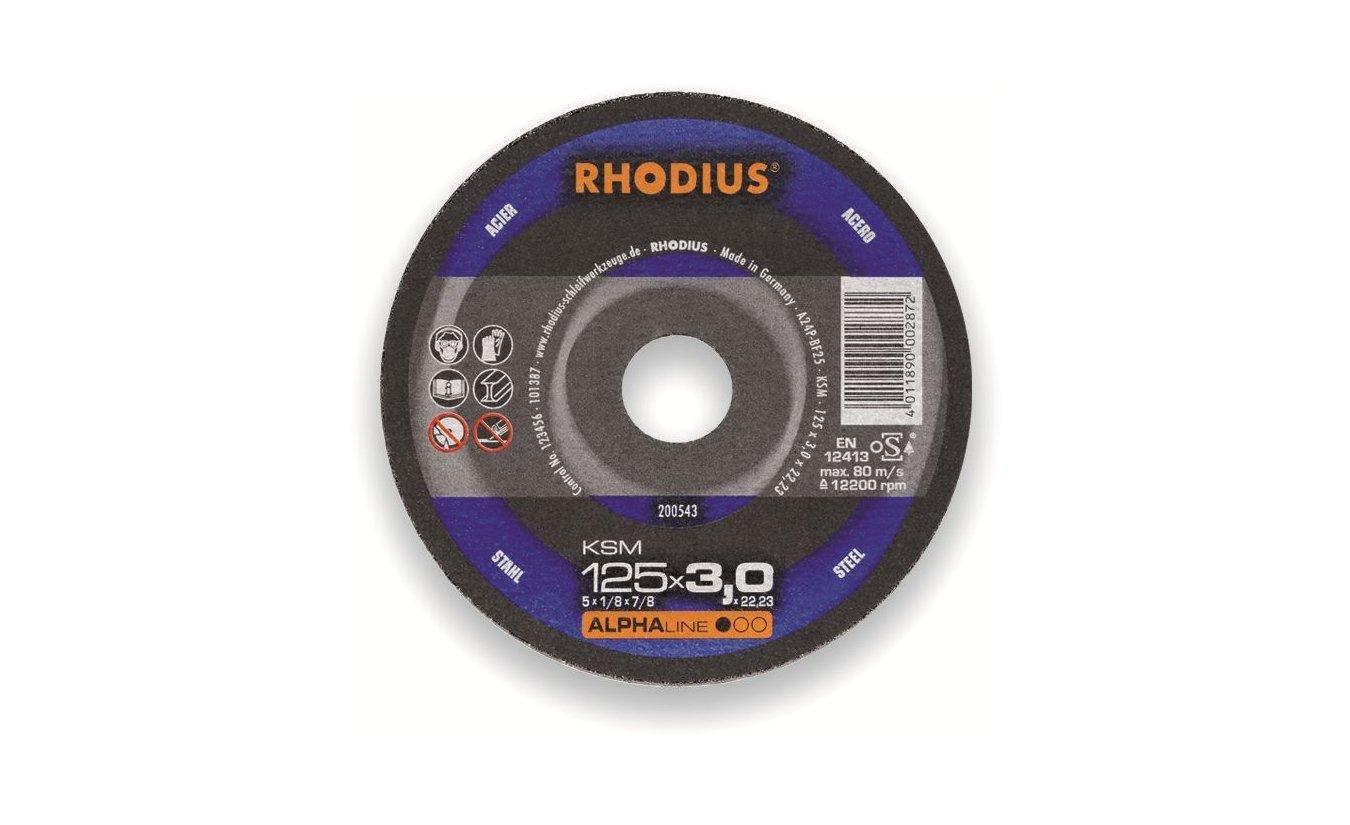 Rhodius KSM doorslijpschijf 180x3 mm