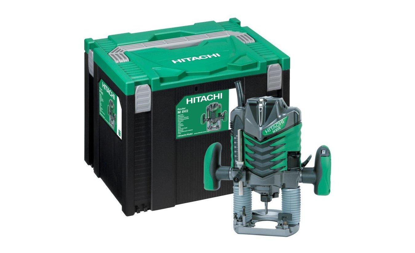 Hitachi M8V2 bovenfreesmachine in systainer