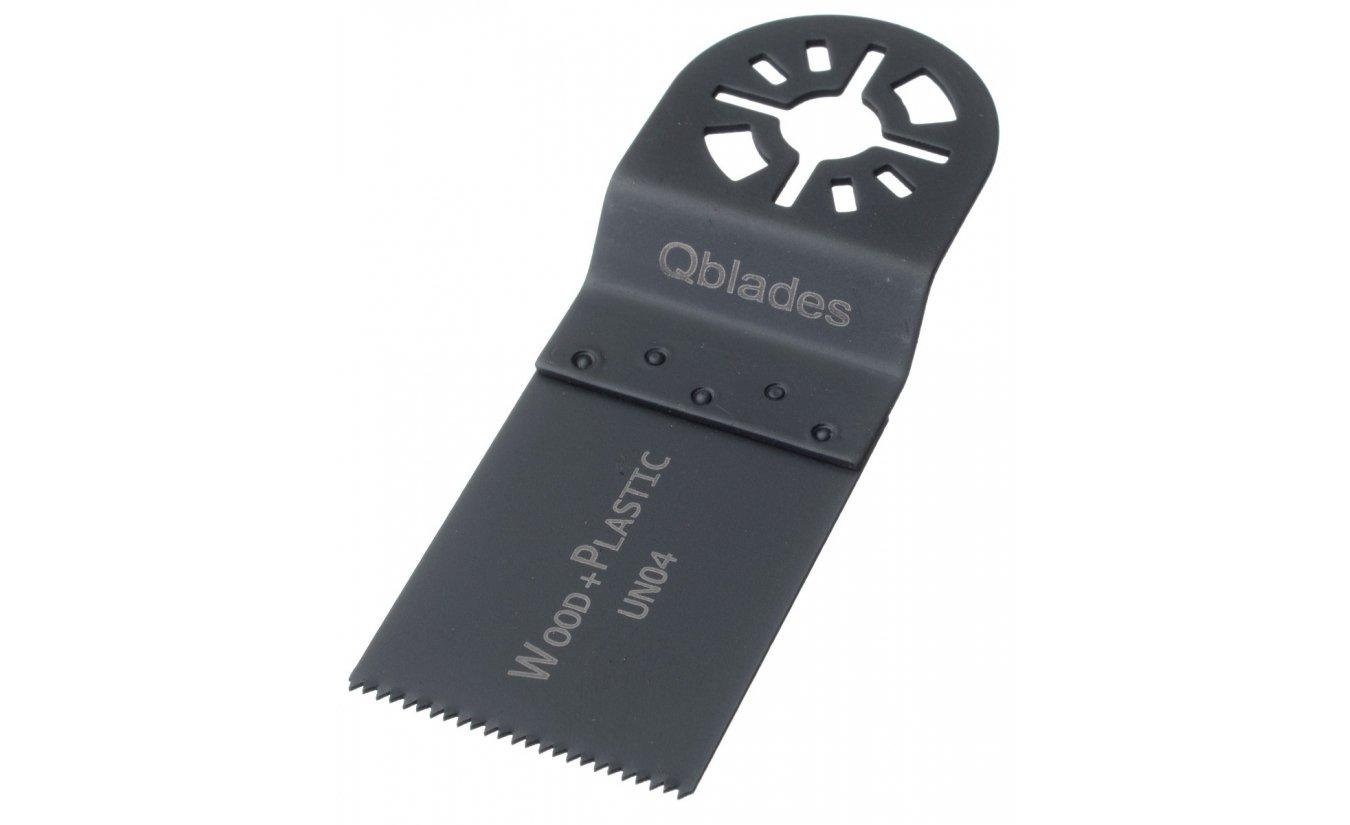 Qblades UN04 34x40mm multitool zaagblad Hout Standaard (Universeel)