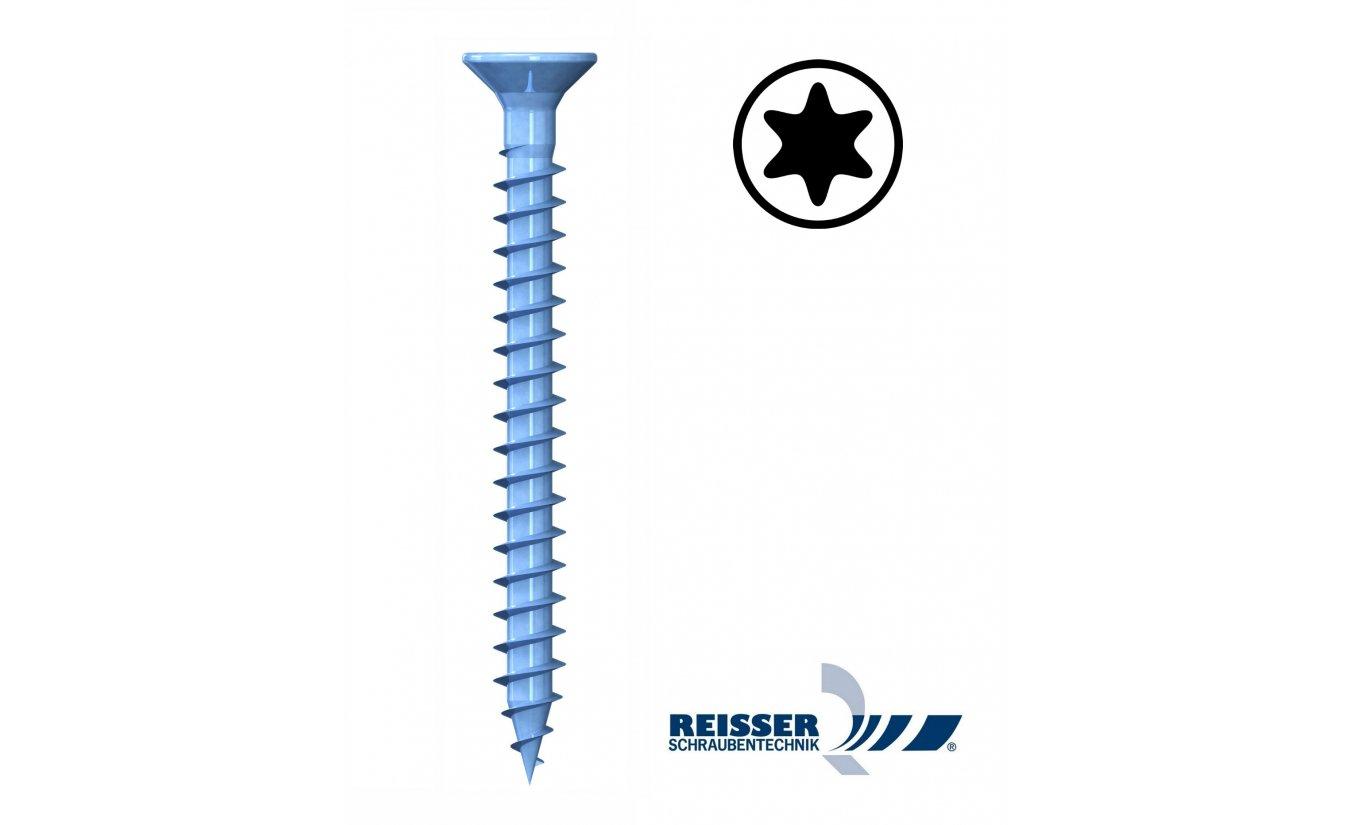 Reisser R2 plus 4,5x30 torx spaanplaatschroeven voldraad 1000 stuks